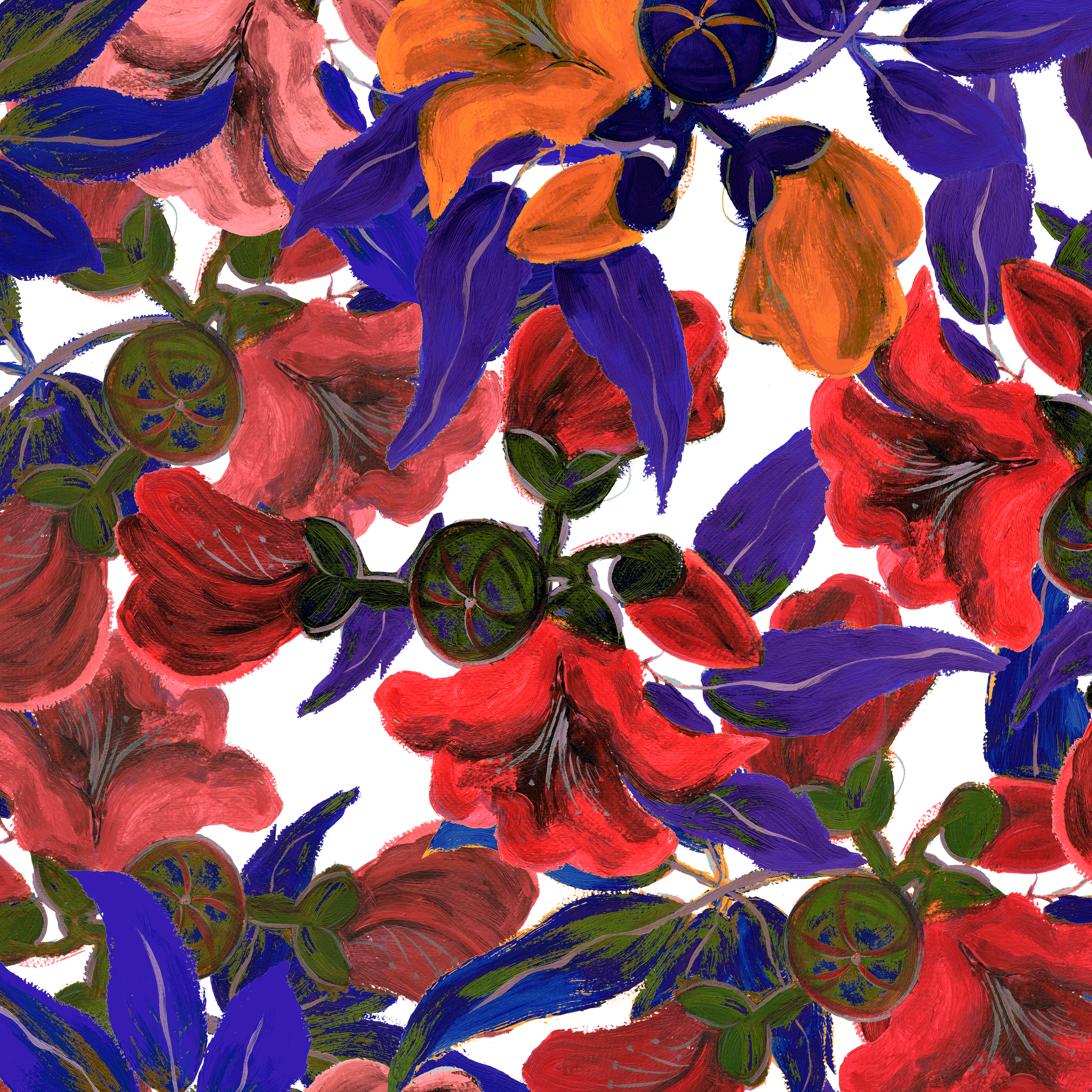 ☆4月お花オリジナル