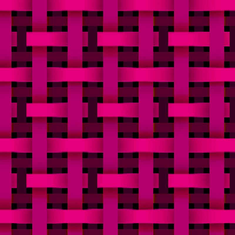 チェック_0002_リボンチェック_Pink